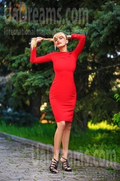 Tanya from Zaporozhye 34 years - smiling for you. My small public photo.